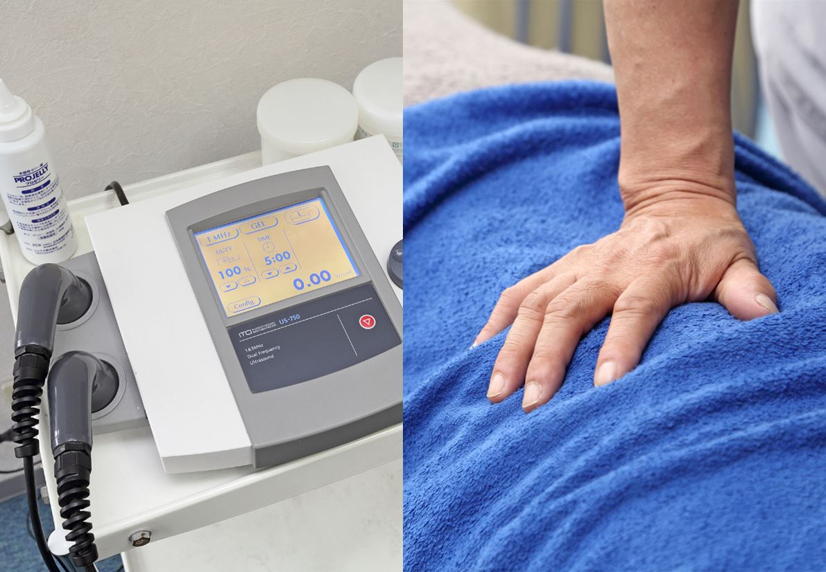 手技と電気治療